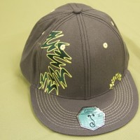 2013 Flat Bill Hat Green Edition