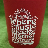 Where Music Meets Mother Nature Koozie